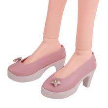 BJD 60 cm Dolls shoes Star pink heels 1/3 Girl 75 cm doll 7.