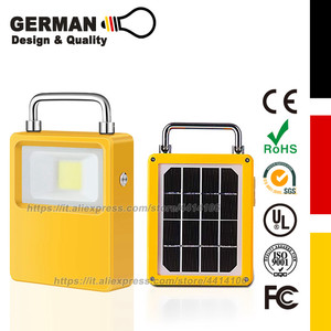 Solar Powered LED Work Lights,