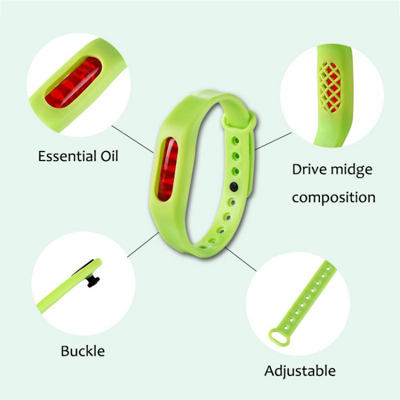 New Mosquito Repellent For Kids Fashion Summer Baby Kid Anti Mosquito Pest Insect Repellent WristBand Bracelet