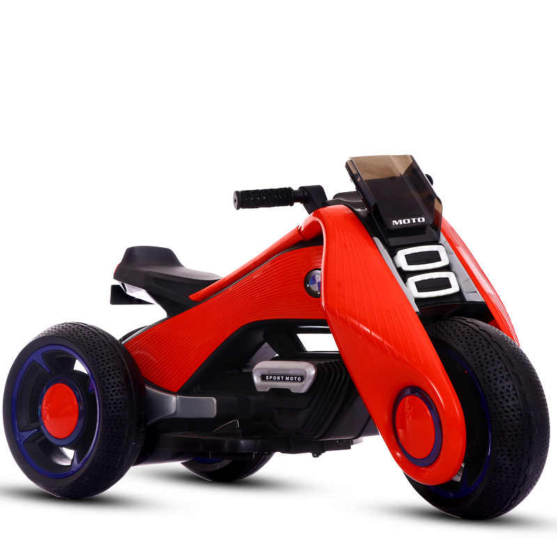 Kids Electric Motorbike Ride On Toy Car For Children Boys Girls Electric Motorcycle 3 Wheels Travel Walker Drive Ride On Car