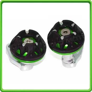 CNC Motorcycle Falling Protection Cover Slider Frame Sliders Protector Crash Guard For BMW S1000RR 09 10 11 12 13 Green