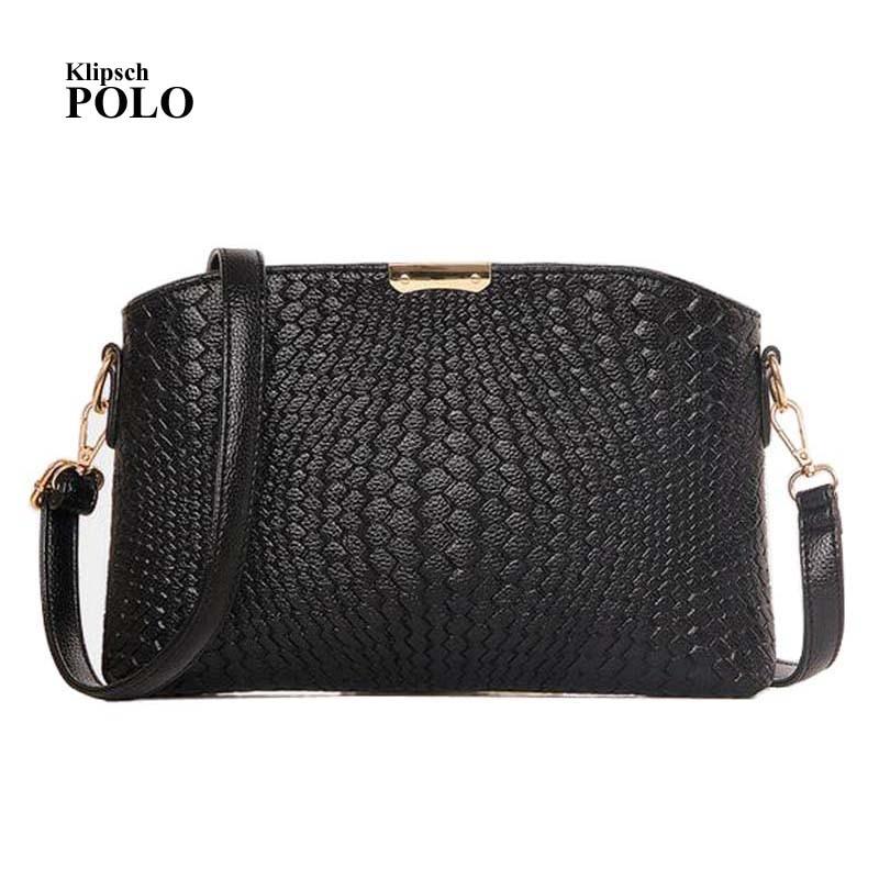 Fashion solid women's clutch bag leather women envelope ...