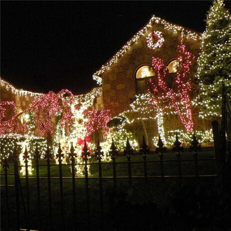 2 м LED Провода свет шнура Батарея питания Фея Света Свадьба Xmas Рождество дерево украшения фонарик 4 цвета