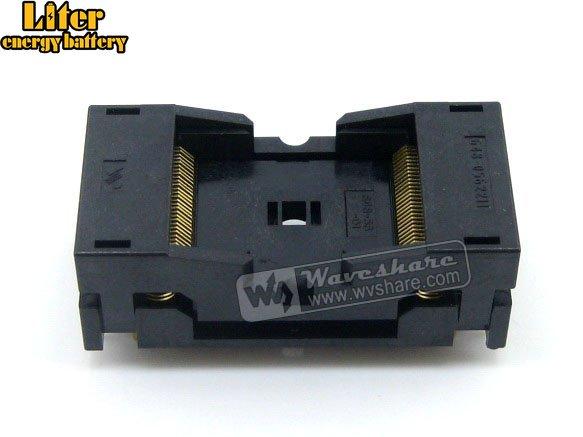 TSOP56 TSOP 56 648-0562211-A01 Wells IC Test Burn-In Socket Programming Adapter 18.4mm Width 0.5mm Pitch