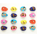 Wholesale Party Favors 100pcs Mix Lots Lovely Cartoon Kids Paw Ring Girls Patrol Rings event Birthday supplies