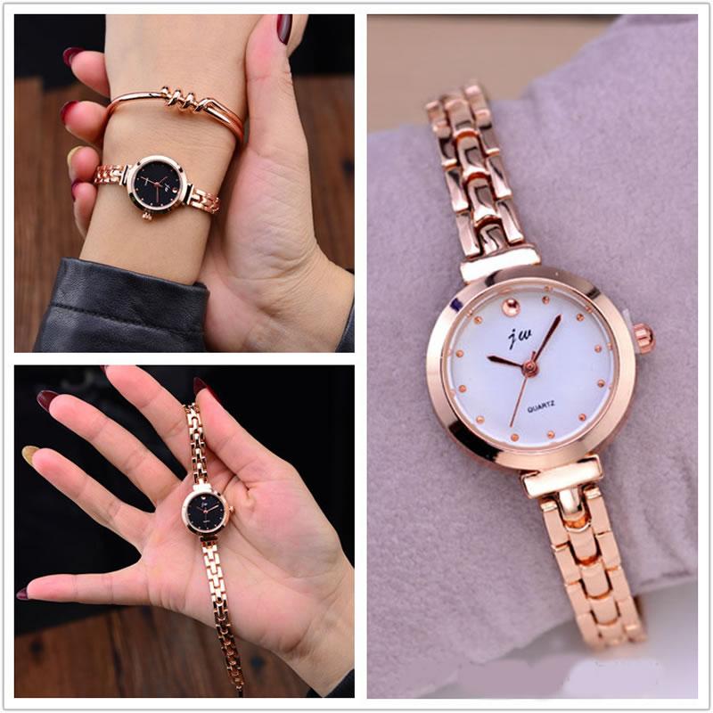 Nieuwe Merk JW Armband Horloges Vrouwen Luxe Crystal Dress Horloges Klok Damesmode Casual Quartz Horloge Reloj Mujer Wrist Watch