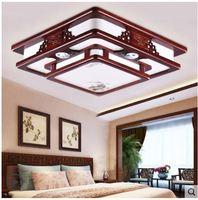 Chinesischen stil wohnzimmer rechteckigen Chinesischen stil decke lampe schlafzimmer massivholz antike studie zimmer lampe