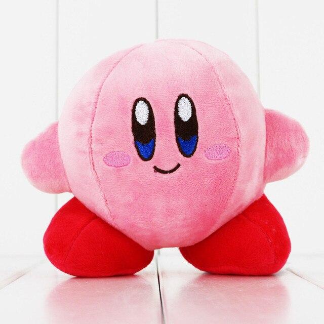 13 centímetros Kawaii Kirby Kirby Jogo Character Boneca Macio Recheado Brinquedo de Pelúcia Linda Rosa Dos Desenhos Animados Toy Kids Presente de Aniversário Das Meninas