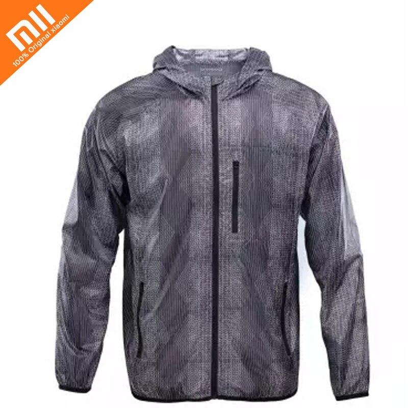 Original Xiaomi Spring Autumn Fashion Skin Clothing Men's Waterproof Windproof Breathable Thin Light Lightweight sunscreen skins все цены
