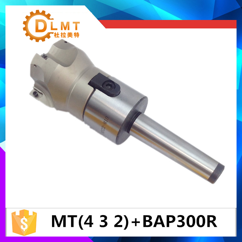 MT4 FMB22 M16 MT3 FMB22 M12 MT2 FMB22 M10+BAP300R 50-22-4T Combi Shell Mill Arbor Morse Taper Tool Holder CNC Milling Machine high hardness 45 steel 22mm milling arbor gear milling cutter tool holder no 3 morse taper ms3
