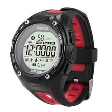 3ATM Imperméable Sport Montre Smart Watch Xwatch Preuve de L'eau Bluetooth 4.0 Smartwatch Bracelet Poignet Podomètre Fitness Pour iOS Android