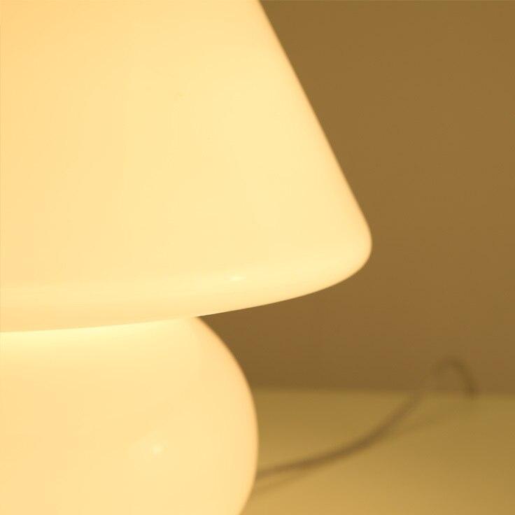 Kat Robinson Fungo Lampada Da Tavolo Ikea Carino Per Bambini Camera Da  Comodino Lampada Creativa Camera Da Letto Minimalista Occhio Di Vetro In  Kat Robinson ...