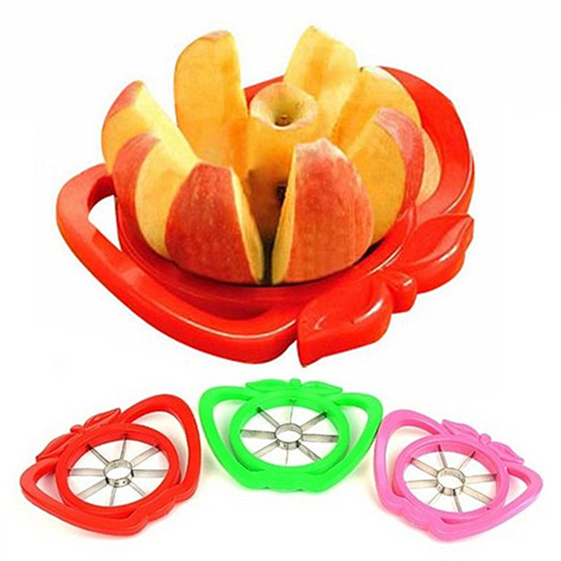 Muti-colored Sampler and Easy Cutter Cut Fruit Slicer Apple-pear Multifunctional Fruits Knife Tool 301-0402