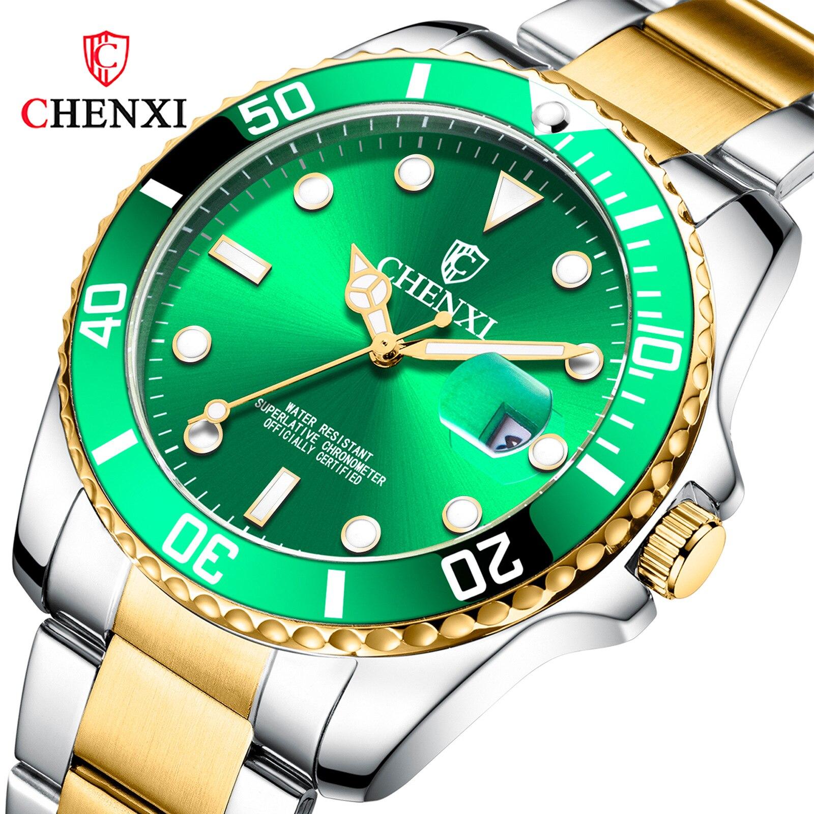 2019 nouvelle mode hommes montre à quartz étanche montre montre de sport décontractée montre pour hommes trois couleurs en option 1