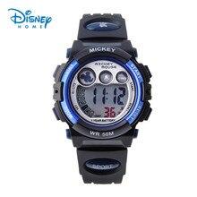Disney Para Hombre Reloj Militar Hombres Deportes Niños Niños Relojes de Pulsera Marca de Lujo LED Digital Multifunción Impermeable Al Aire Libre