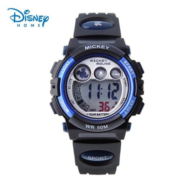 Disney Mens Military Watch For Men Sport Children Luxury Brand LED Digital Multifunction Outdoor Waterproof Boys Wristwatches