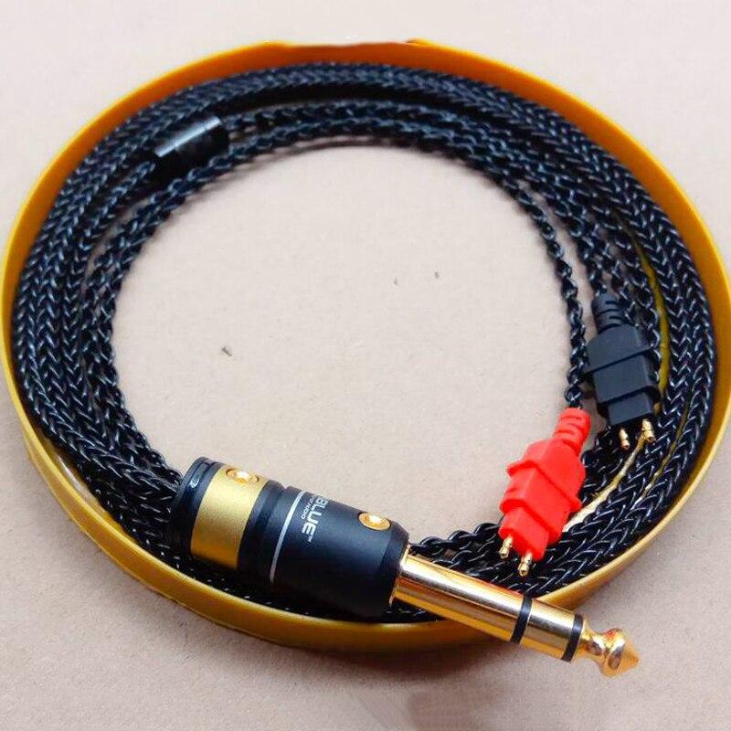 7N Cable for Sennheiser Headphone HD600 HD650 HD525 HD545 HD565 HD580 Headphones Replacement Audio Cable Verbatim