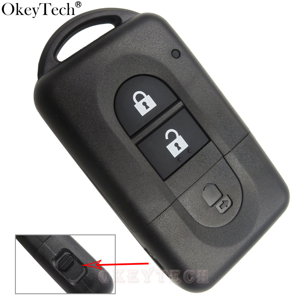 2 Button Remote key Shell For Nissan Micra Xtrail Qashqai Juke Duke Uncut Blade For Nissan Key Fob Cas Replacement Free Shipping