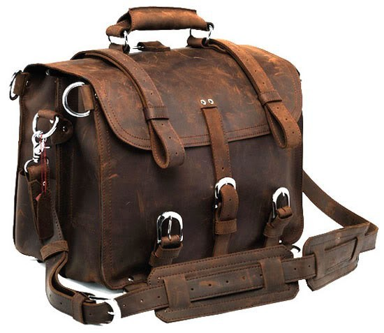 16110aa27e4f Vintage Crazy Horse Leather Men Travel Bag Carry on Luggage Bag Men leather  duffle bag overnight weekend bag Tote Handbag Large