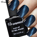 Vrenmol 1pcs Cat Eye's Gel Magnet UV Nail Gel Polish Base and Top Coat Long Lasting 24 Colorful Gel Lacquer Varnishes