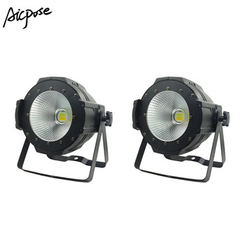 LED Par COB Licht 100 W High Power Aluminium DJ DMX Led Beam Wassen Strobe Effect Podium Verlichting, koel Wit en Warm Wit