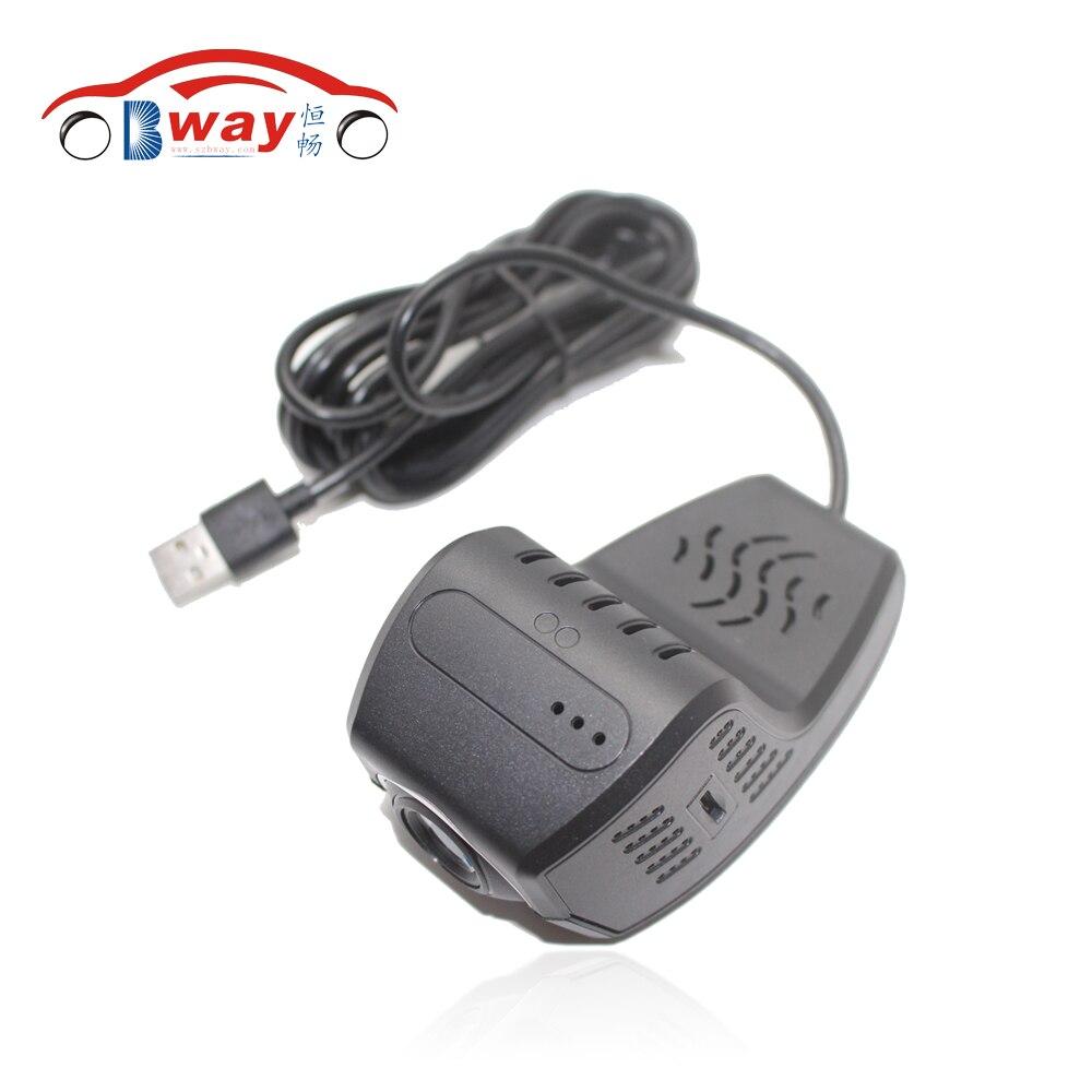 imágenes para 720 P DVR USB de la Cámara de Grabación de grabación de Vídeo Del Coche Registrador de la Conducción android cámara del coche Para Android 4.4 y 5.1.1 Coches Reproductor de DVD