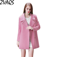 Ladies pink wool coat online shopping-the world largest ladies ...