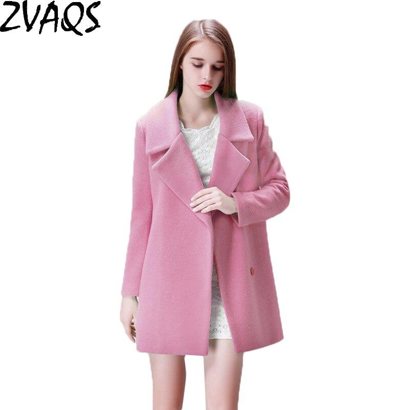 Popular Ladies Pink Wool Coat-Buy Cheap Ladies Pink Wool Coat lots