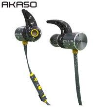 AKASO bx343 Sport Wireless in ear font b Headphone b font Bluetooth IPX5 Waterproof Earbuds Headset