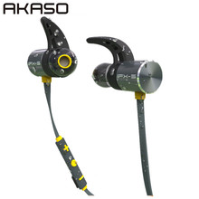 AKASO bx343 Sport Wireless in ear Headphone Bluetooth IPX5 Waterproof Earbuds Headset Earphones Microphone For Mobile Phone
