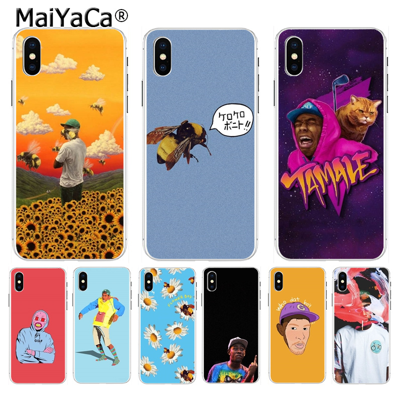 Maiyaca Flower Boy Tyler The Creator Luxury Phone Accessories Case For Iphone 8 7 6 6s Plus X Xs Max 10 5 5s Se Xr Coque Shell