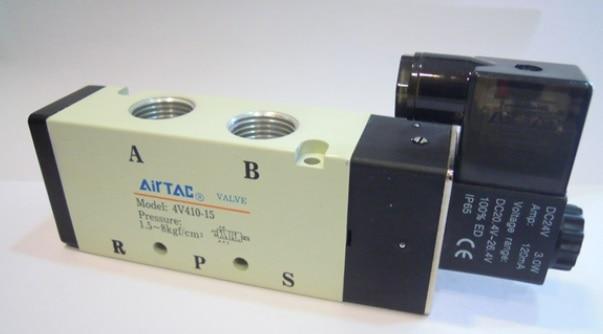 The supply of the original electromagnetic valve 4V410-15 AC220V the supply of the original electromagnetic valve 4v410 15 ac220v