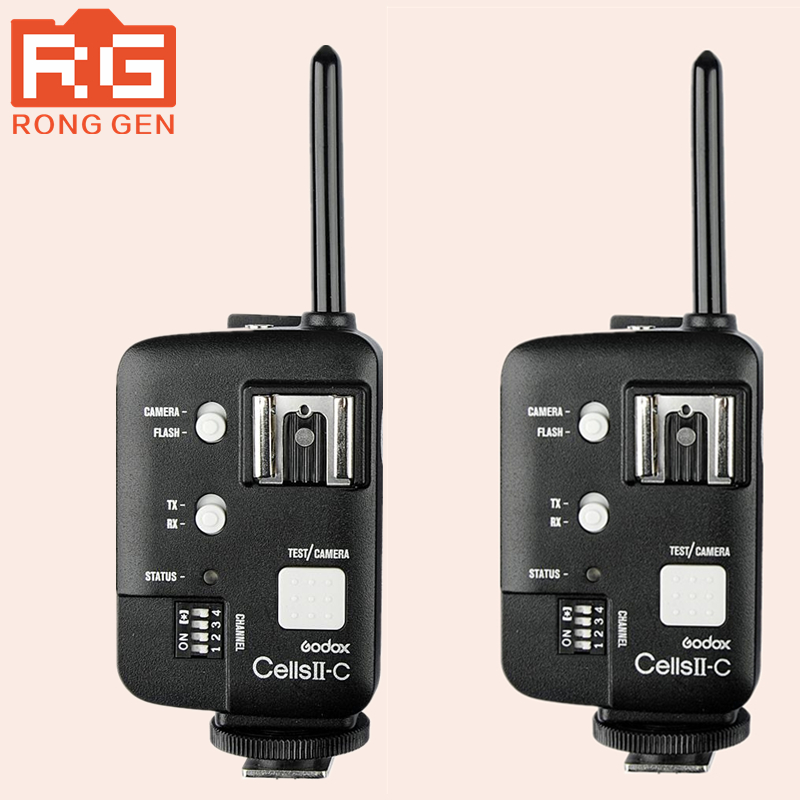 Godox Cells II High-Speed All-in-One Transceiver Multi-Function Trigger Wireless Sync Spee