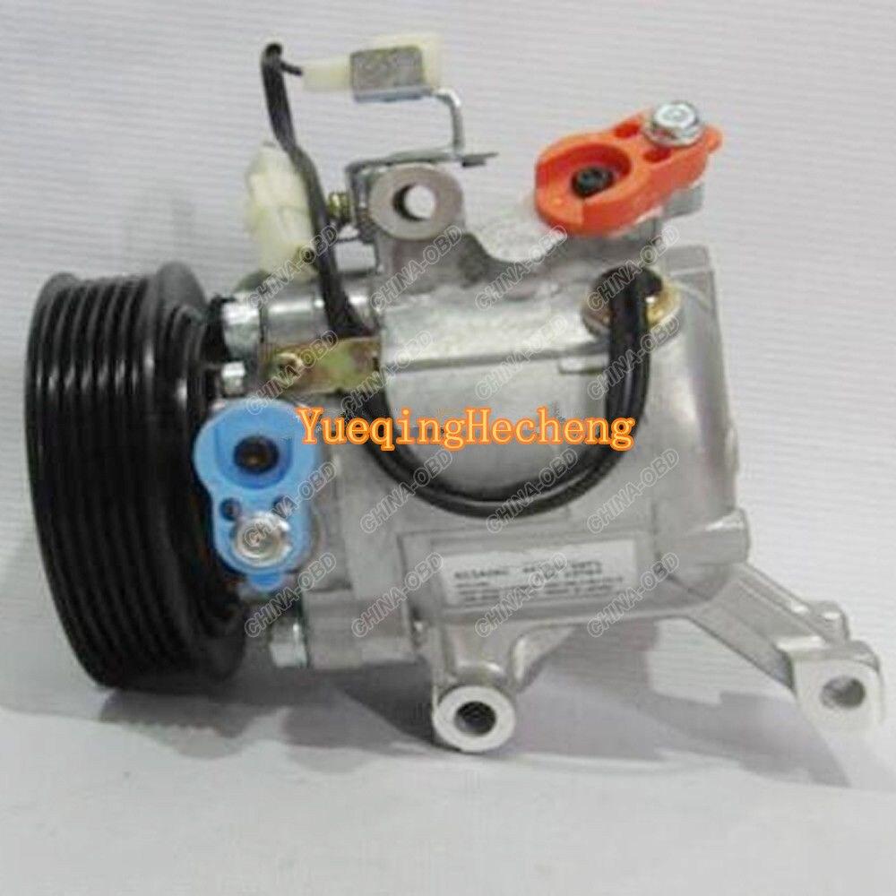 AC Compressor 447280-3150 SV07C For 1.0 1.3 Daihatsu Terios 2007- Free Shipping high quality auto air conditioning compressor sc06e pv4 for daihatsu for car toyota terios ac compressor with clutch