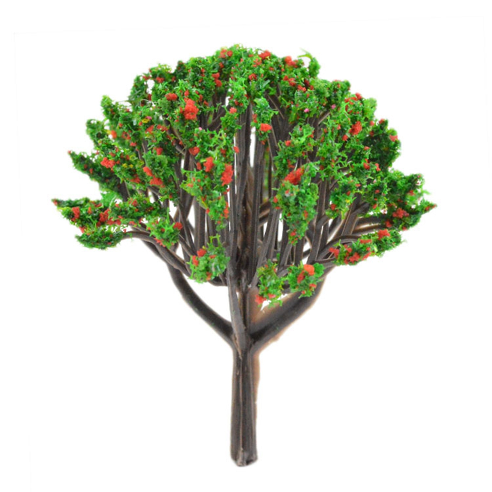 Teraysun Architechtural model making Mixed Color Trees Plastic Model ...