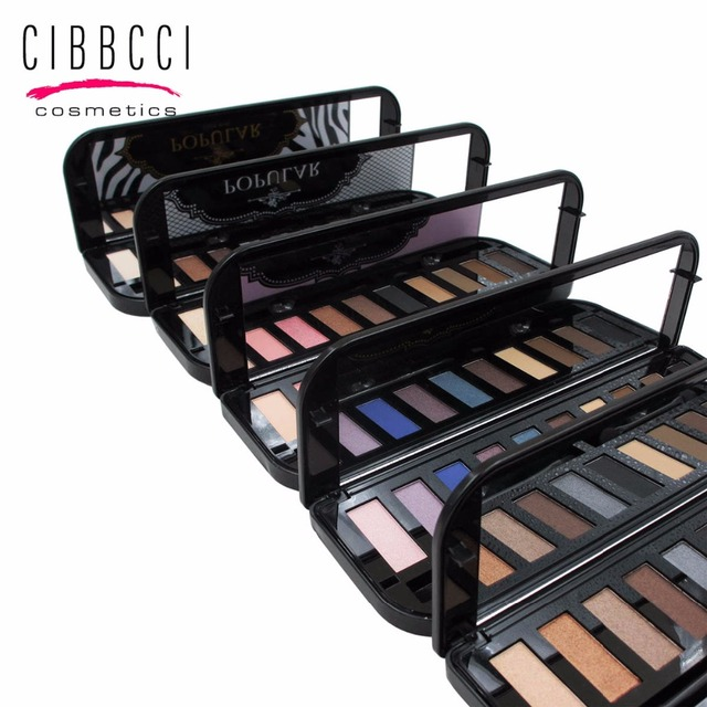 Cibbcci naked eye shadow paleta nude sombra palette makeup set 10 cores de sombra sombra para as sobrancelhas