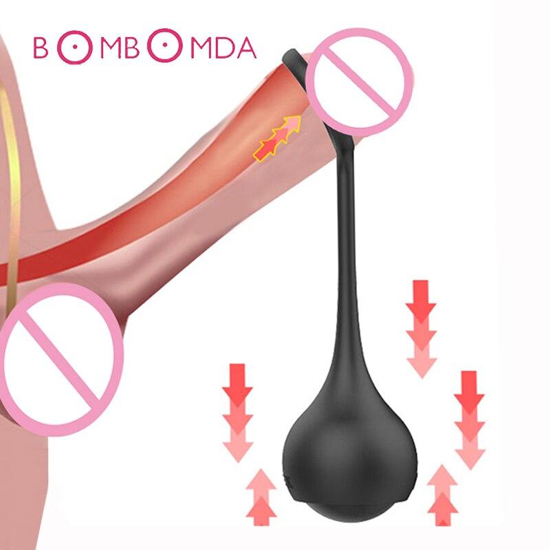 Extensor de pene de bola de Metal para hombre, dispositivo de castidad masculino, extensor de pene, anillo para pene, Juguetes sexuales para adultos