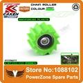 KXF Cadeia Inferior Rolo Tensor Da Polia Roda Guia Fit KX250F KX450F 06-16 Bicicleta Da Sujeira do Motocross Da Motocicleta Frete Grátis