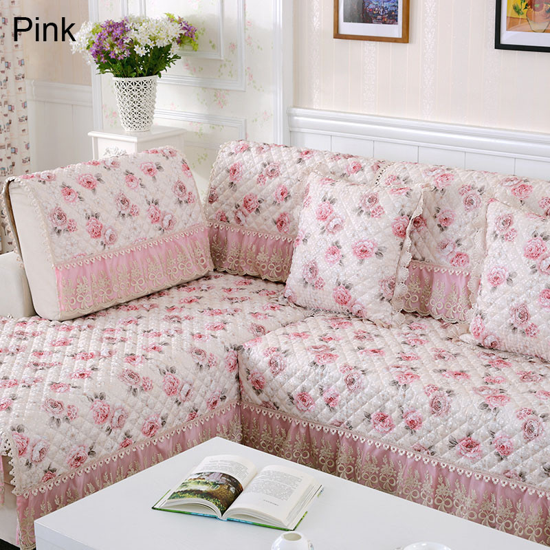 Exceptionnel Pastoral Jacquard Fabric Case On The Couch Quilted Sofa Cover Floral Sofa  Cushion Throws Slipcover Sectional Blanket On The Sofa In Sofa Cover From  Home ...