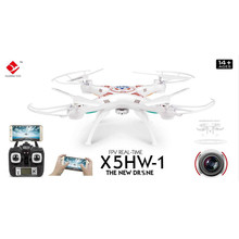 X5HW-1 RC Quadcopter Drone WIFI FPV With 0.3MP HD Camera 2.4G 4CH 6Axis RC Quadcopter RTF 100M Remote Comtrol VS X6SW X600 X5SW