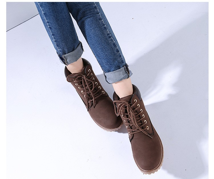 autumn Plush Snow Boots Women Wedges Knee-high Slip-resistant Boots Thermal Female Cotton-padded Shoes Warm Size G2W 20
