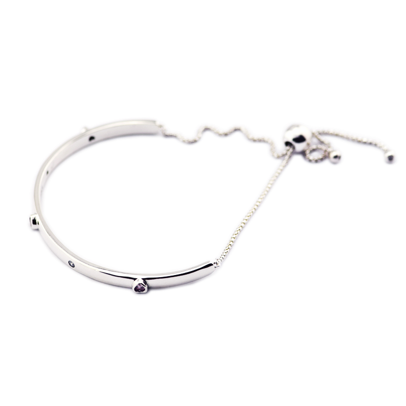 Bracelet Sterling-Silver-Jewelry Explosion of Love Bangles & Bracelets for Women Jewelry Pulseira Masculina Feminina Silver 925