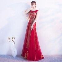 Beauty Emily Sweet Applique Evening Dress 2018 High Quality Grey Tulle With Applique Evening Dresses Real
