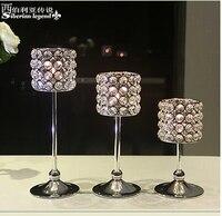 Mode hochzeitsdekoration kristall kerzenhalter teelichthalter kerzenhalter kerzenhalter aus glas gläser für kerzen ZT005
