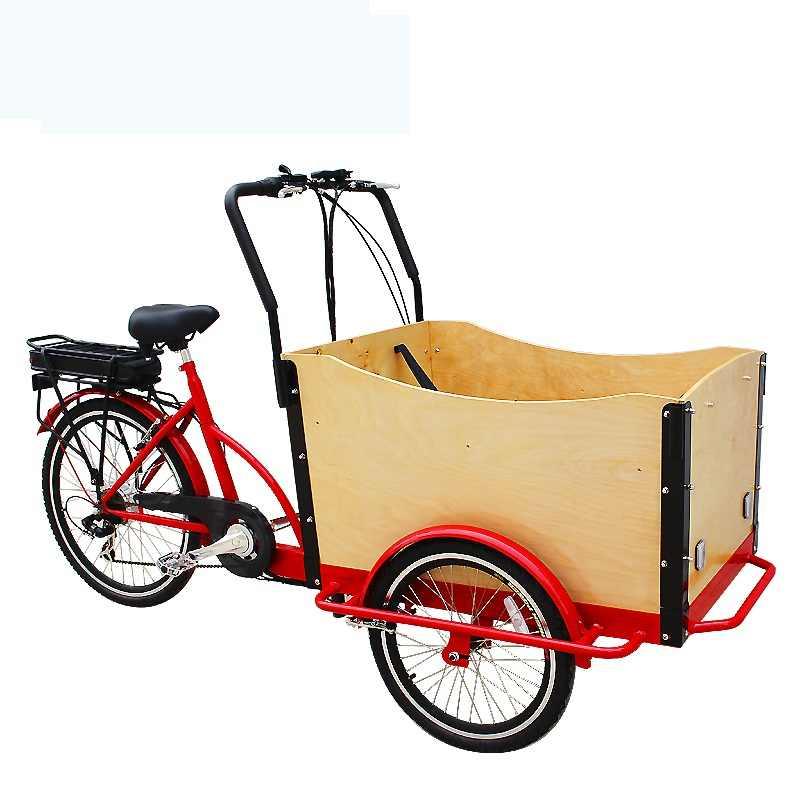 3 輪電動貨物自転車、 3 輪電動自転車貨物トライクトライライダートライク大人のための