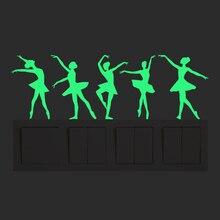 купить New 3D wall stickers for kids rooms Totoro Luminous Sticker glow in the dark fairy wall stickers bedroom home decor living room по цене 84.02 рублей