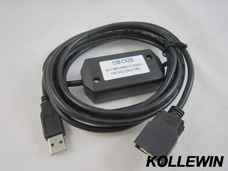 все цены на  USB-CN226 USB PLC programming adapter for CS/CJ,CQM1H,CPM2C series PLC USBCN226 support win7/win8 with free CX-ONE V4.03 CXONE  онлайн
