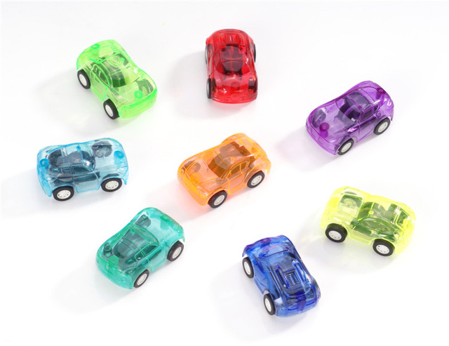 12Pcs/6Pcs Pull Back Car Toys Car Children Racing Car Baby Mini Cars Cartoon Pull Back Bus Truck Kids Toys Children Boy Gift GYH