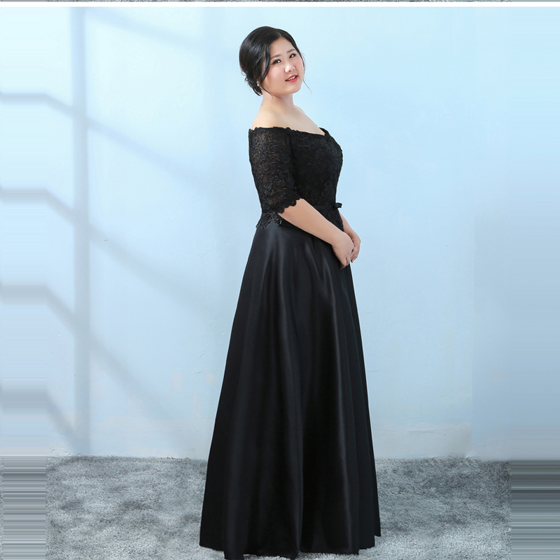 Detail Feedback Questions about It s YiiYa Evening Dress 2018 Black ... b0c709f60546