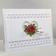 Eastshape  Flower Rectangle Metal Cutting Dies New 2019 Scrapbooking Stitch Craft Die Cut Stencil Background